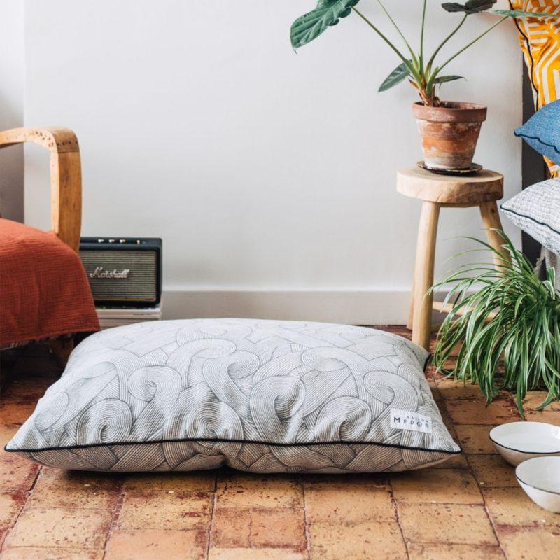 le coussin made in france très confortable pour chiens par maison médor