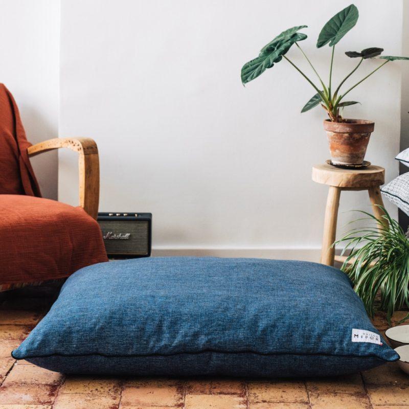 élégant et confortable coussin pour chiens de maison médor la marque française