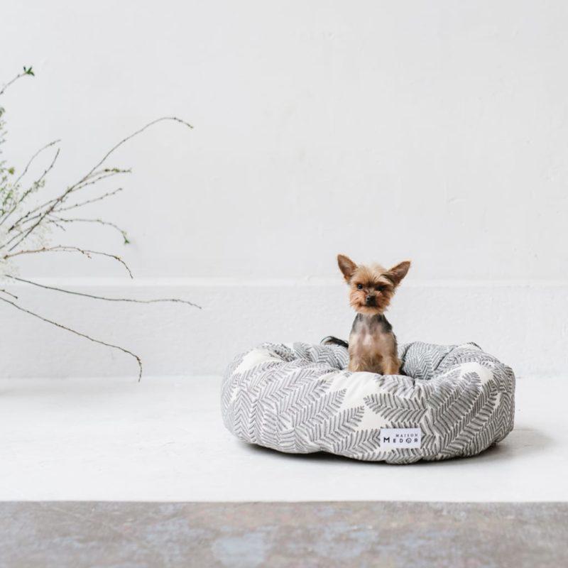 le panier pour chien made in france modèle rox de maison medor