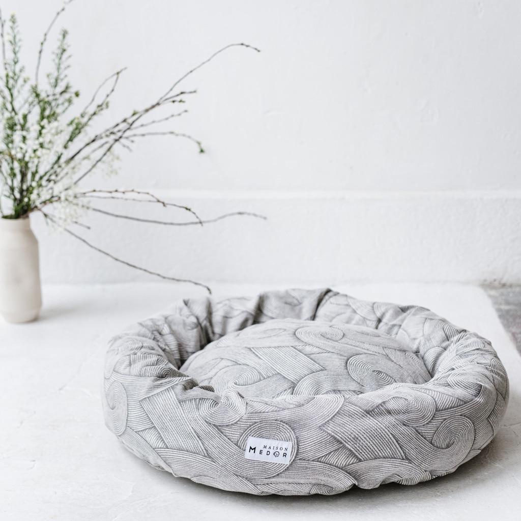 le panier pour chiens design et confortable java de maison medor