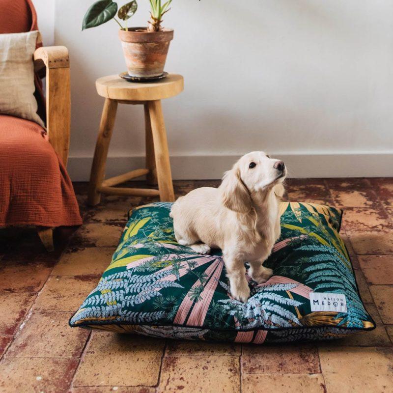 le coussin pour chien dixie de maison médor