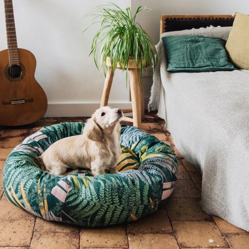 le panier rond pour chien made in france maison médor